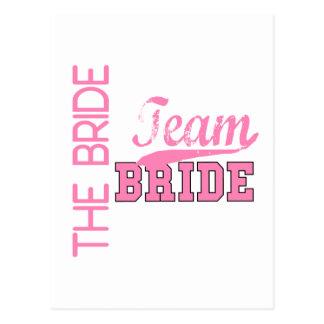 Team Bride 1 BRIDE Post Card
