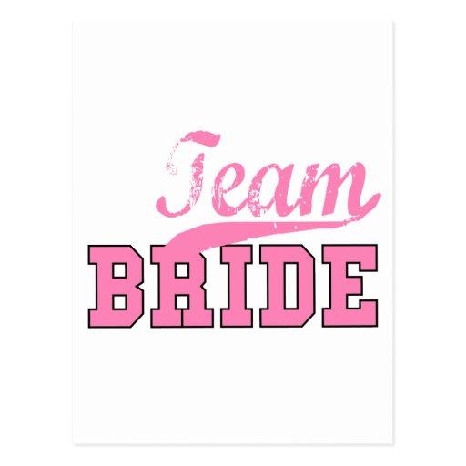 Team Bride 1 Postcards