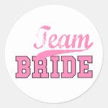 Team Bride 1 Sticker