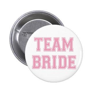 Team Bride 6 Cm Round Badge