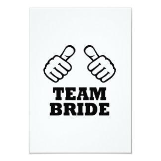 Team bride bachelorette party custom announcements