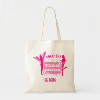 Team Bride bachelorette party Tote Bag