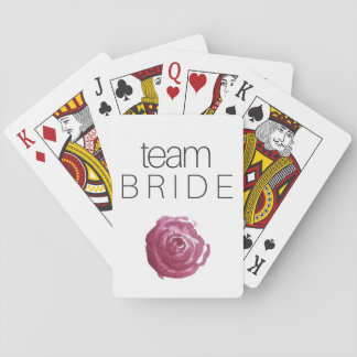 TEAM BRIDE ;; Bachelorette Playing Cards