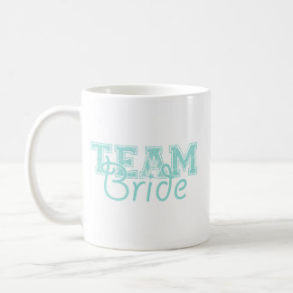 Team Bride - Blue Coffee Mug