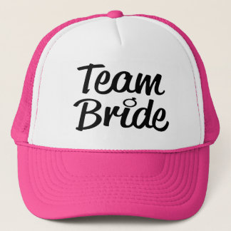Team Bride Bridesmaid trucker hat
