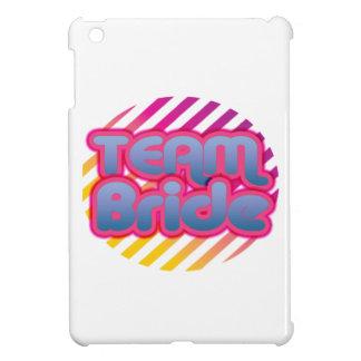 Team Bride Bridesmaids bachelorette wedding party iPad Mini Cases