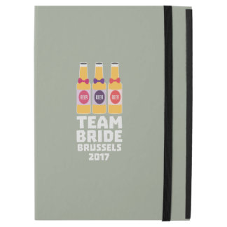 "Team Bride Brussels 2017 Zfo9l iPad Pro 12.9"" Case"