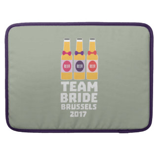 Team Bride Brussels 2017 Zfo9l Sleeve For MacBook Pro