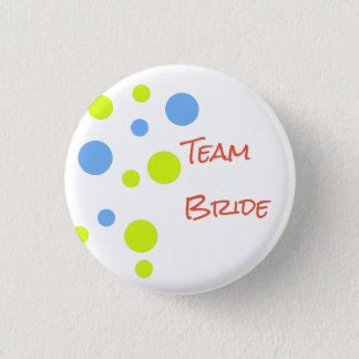Team Bride Button Pin