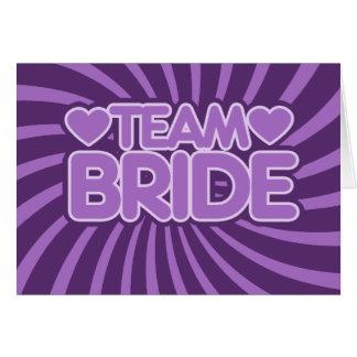 Team Bride Cards