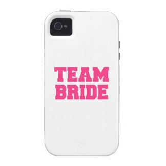 Team Bride iPhone 4 Case
