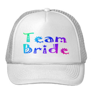 Team Bride (Colorful) Hats