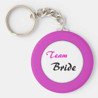 Team Bride Design Key Chains