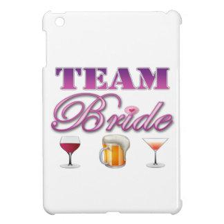 Team Bride Drinks Bridesmaids Wedding Bridal Party iPad Mini Cases