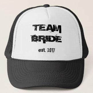 TEAM BRIDE EST. 2017 - TRUCKER HAT