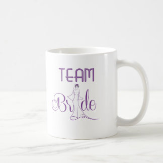 Team Bride - fancy Basic White Mug