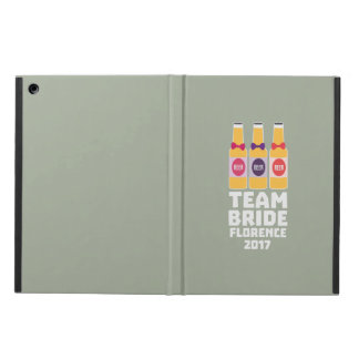 Team Bride Florence 2017 Zhy7k iPad Air Case