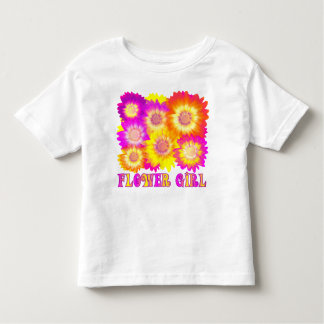 team bride,flower girl,wedding team shirts