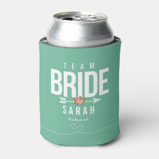 Team Bride Green Bridesmaid Gift