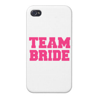 Team Bride Covers For iPhone 4