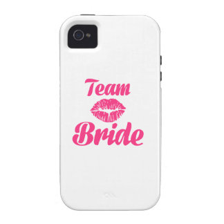 Team Bride kiss iPhone 4/4S Cover