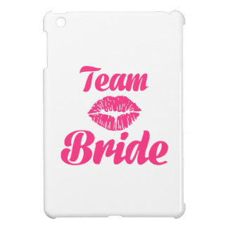 Team Bride kiss iPad Mini Cases