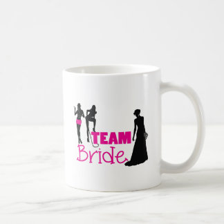 Team Bride - maid of honour Basic White Mug