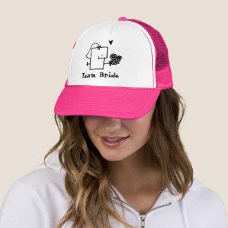 Team Bride Meepple Trucker Hat