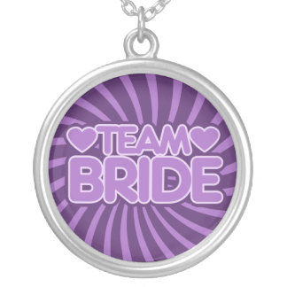 Team Bride Personalized Necklace