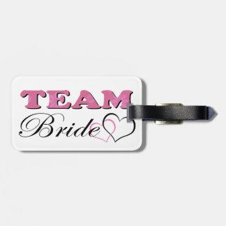 Team Bride - Pale Pink Bag Tag