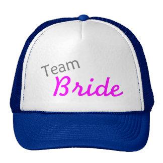 Team Bride PInk Hats