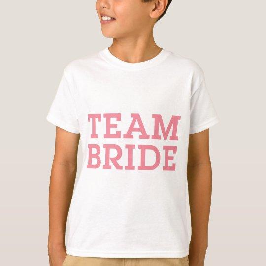 Team Bride Pink T-Shirt