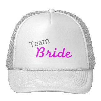 Team Bride PInk Trucker Hat