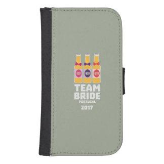 Team Bride Portugal 2017 Zg0kx Samsung S4 Wallet Case