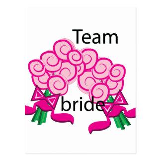 Team Bride Postcard