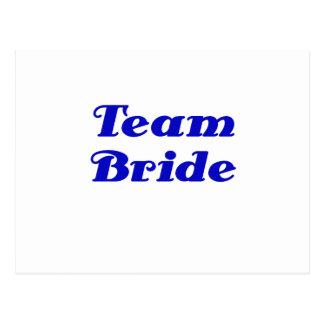 Team Bride Postcards