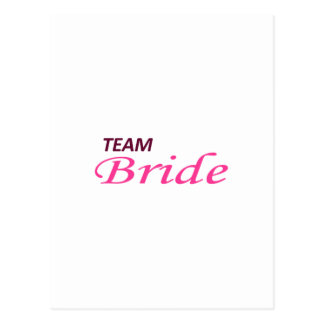 TEAM BRIDE POST CARDS