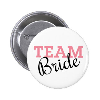 Team Bride Script 6 Cm Round Badge
