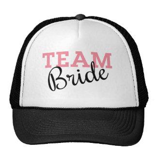 Team Bride Script Cap