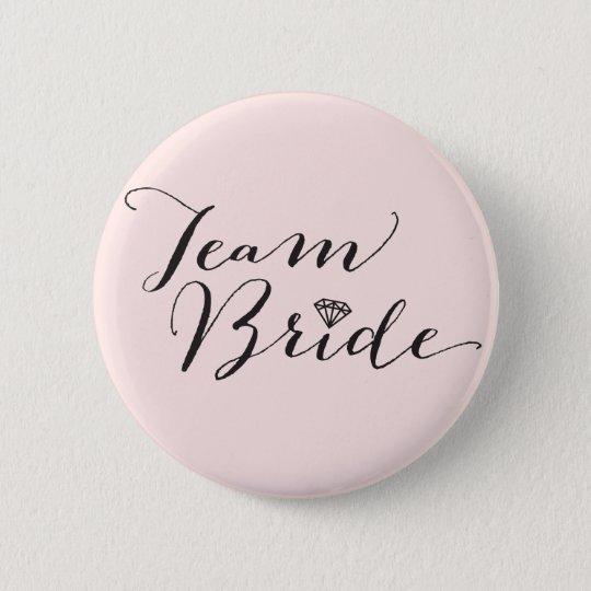 Team Bride Script Diamond Wedding Bridal Party 6