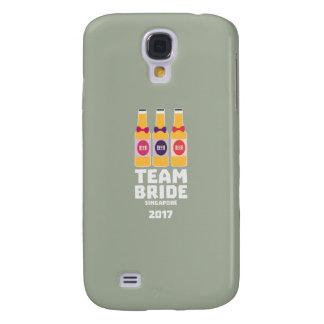 Team Bride Singapore 2017 Z4gkk Galaxy S4 Case