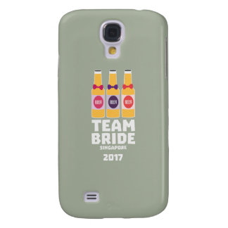 Team Bride Singapore 2017 Z4gkk Galaxy S4 Case