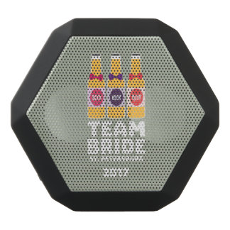 Team Bride St. Petersburg 2017 Zuv92 Black Bluetooth Speaker