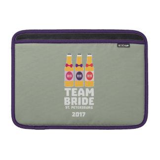 Team Bride St. Petersburg 2017 Zuv92 MacBook Sleeve