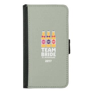 Team Bride St. Petersburg 2017 Zuv92 Samsung Galaxy S5 Wallet Case