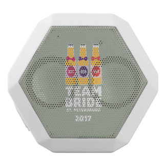 Team Bride St. Petersburg 2017 Zuv92 White Bluetooth Speaker