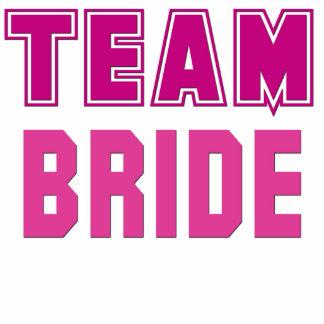 Team Bride Standing Photo Sculpture