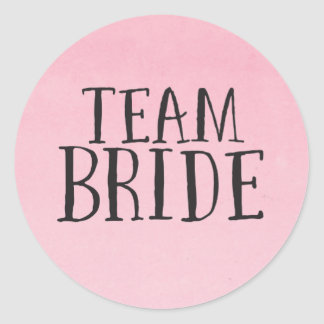 Team Bride Stickers