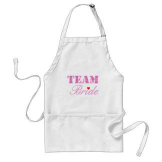 Team Bride Theme Adult Apron