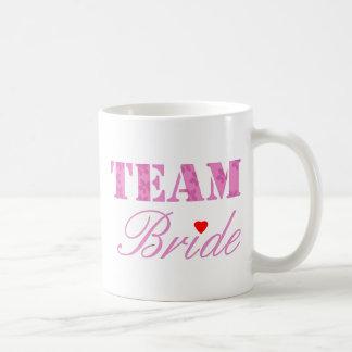 Team Bride Theme Basic White Mug